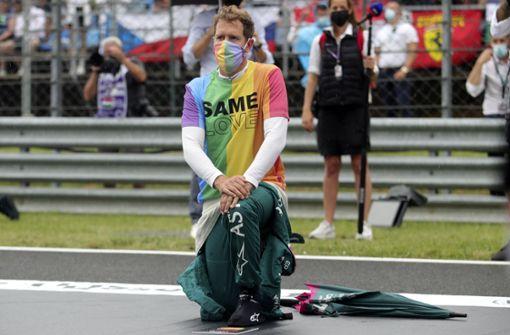 Note  drei plus für Sebastian Vettel