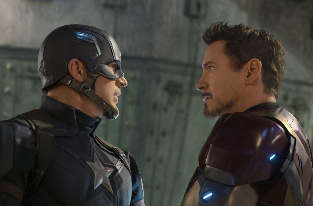 Schaffen Captain America und Iron Man doch noch die Wende zum Guten? Foto: ProSieben