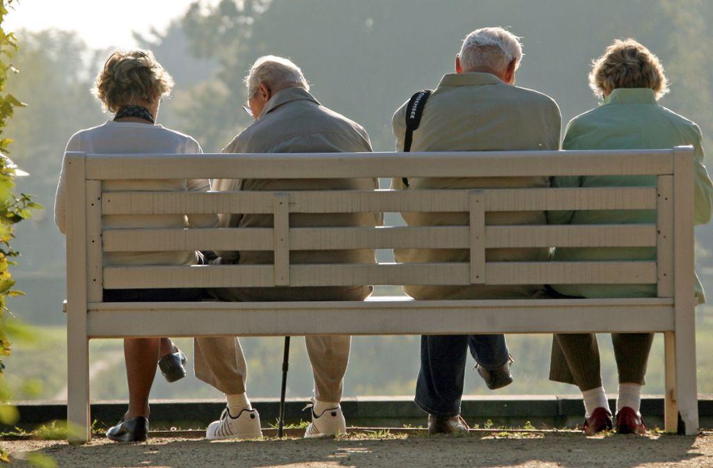 Für  künftige Ruheständler muss ein neues Vorsorgekonzept her. Foto: dpa-Zentralbild