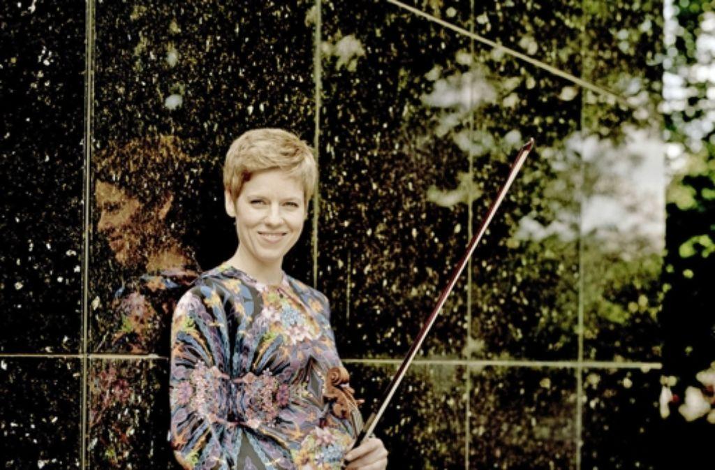 Die Geigerin Isabelle Faust Foto: Veranstalter