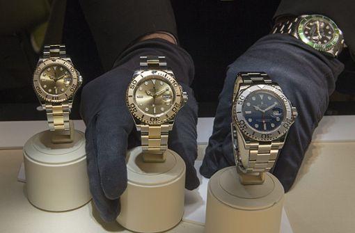 Paris wird zum Dorado für Diebe von Luxusuhren