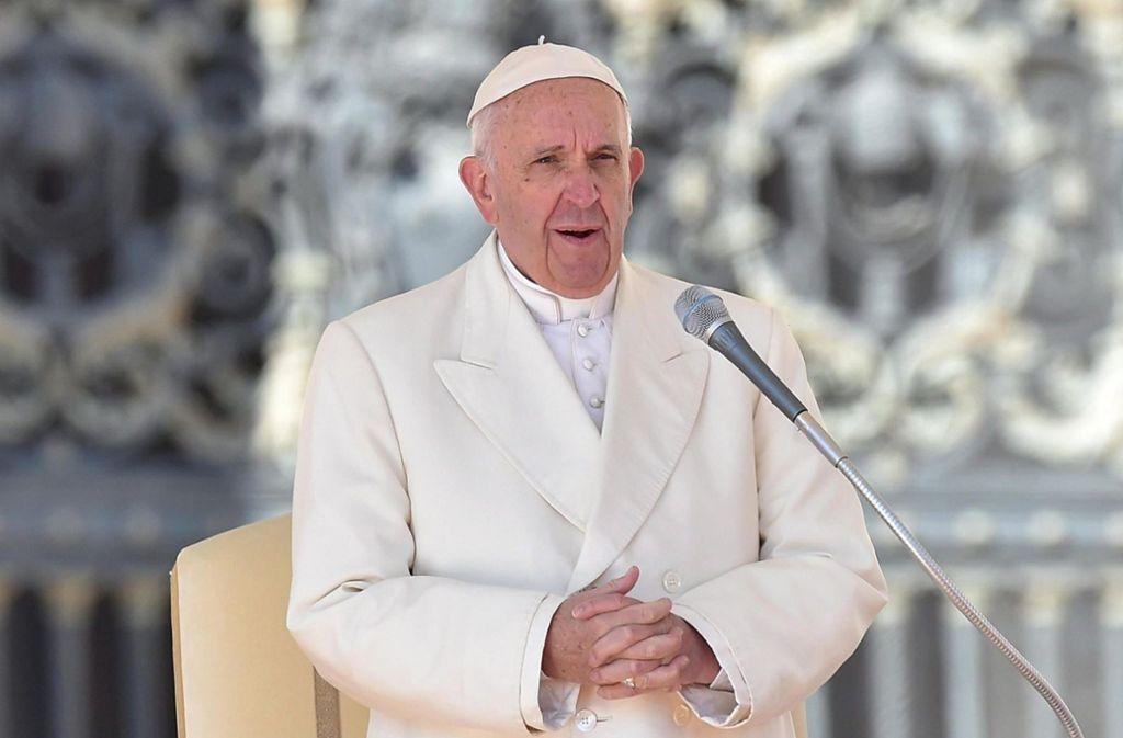 Papst Franziskus hat Abtreibung mit Auftragsmord verglichen (Archivbild). Foto: epa ansa