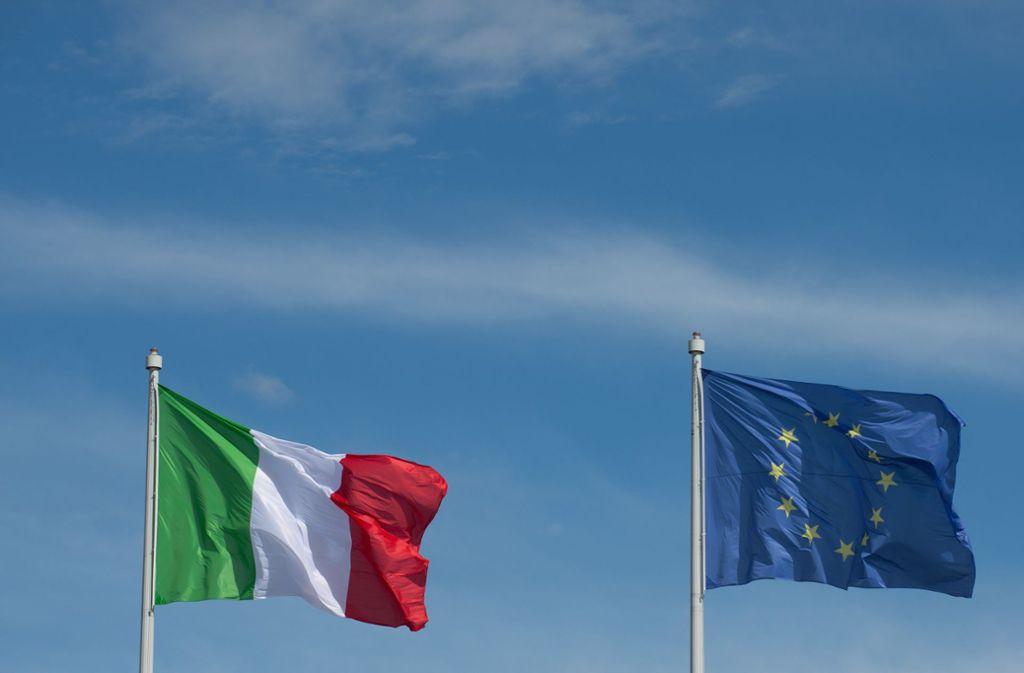 Laut EU-Kommission hat die italienische Regierung keine ausreichenden Maßnahmen gegen die Staatsverschuldung getroffen. Foto: dpa