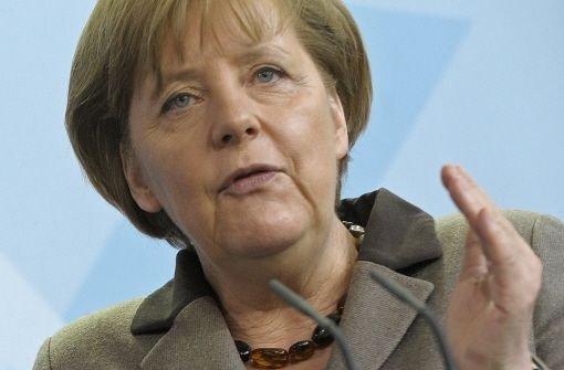 Merkel will Laufzeitverlängerung aussetzen