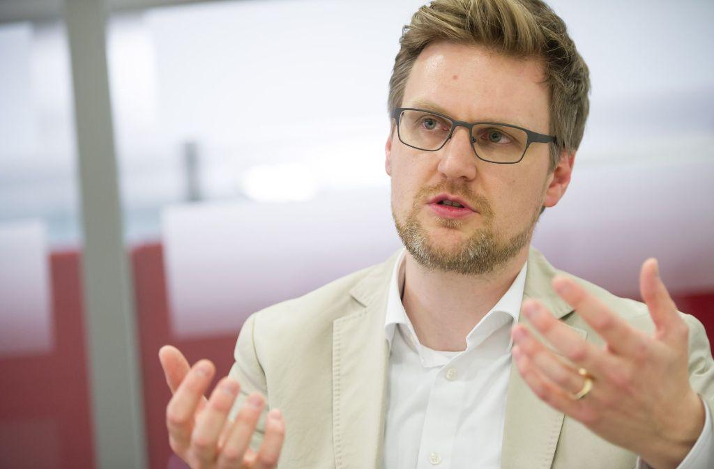 Martin Rücker ist der neue Deutschland-Chef von Foodwatch. Foto: Lichtgut/Max Kovalenko