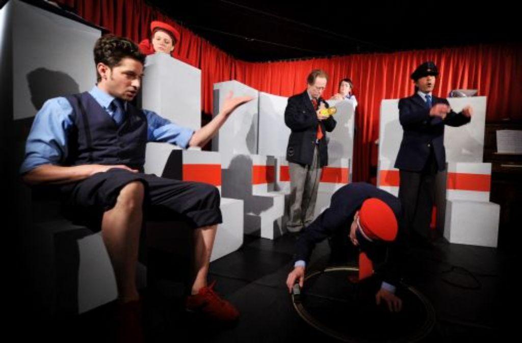 Die Schlichtung - das Musical zu Stuttgart 21 im Studiotheater Foto: dpa