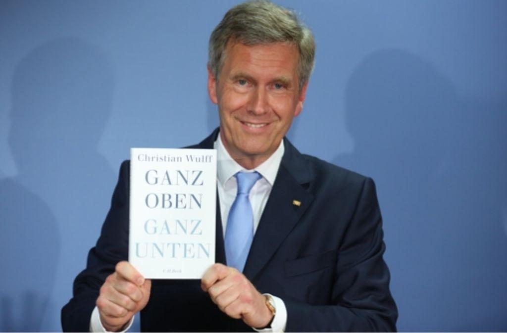 Christian Wulff, ehemaliges Staatsoberhaupt, stellt sein Buch in Berlin vor. Foto: dpa