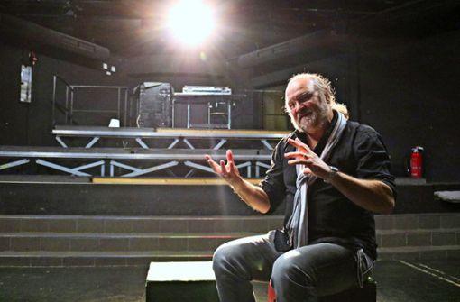 Peter Hauser ist jetzt nur noch  Theatermacher