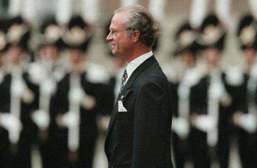 König Carl Gustaf feiert - in aller Stille