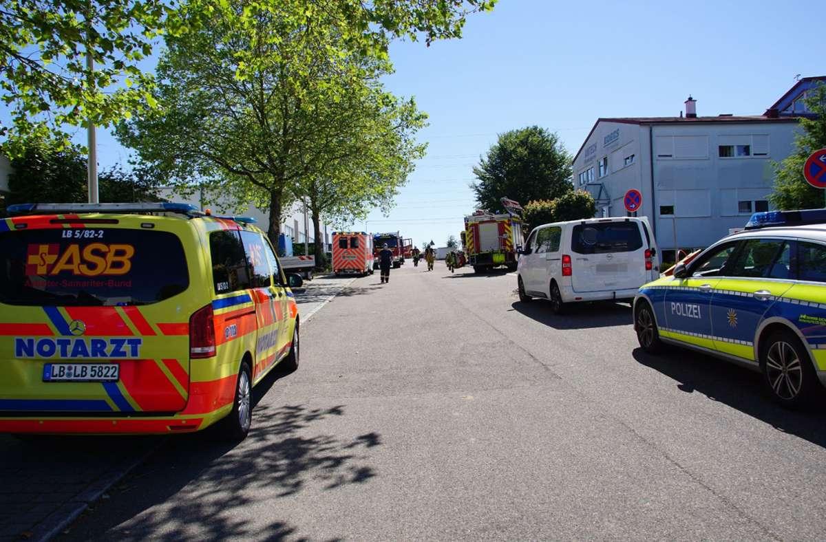 Der Unfall ereignete sich in Freiberg am Neckar. Foto: SDMG/SDMG / Hemmann