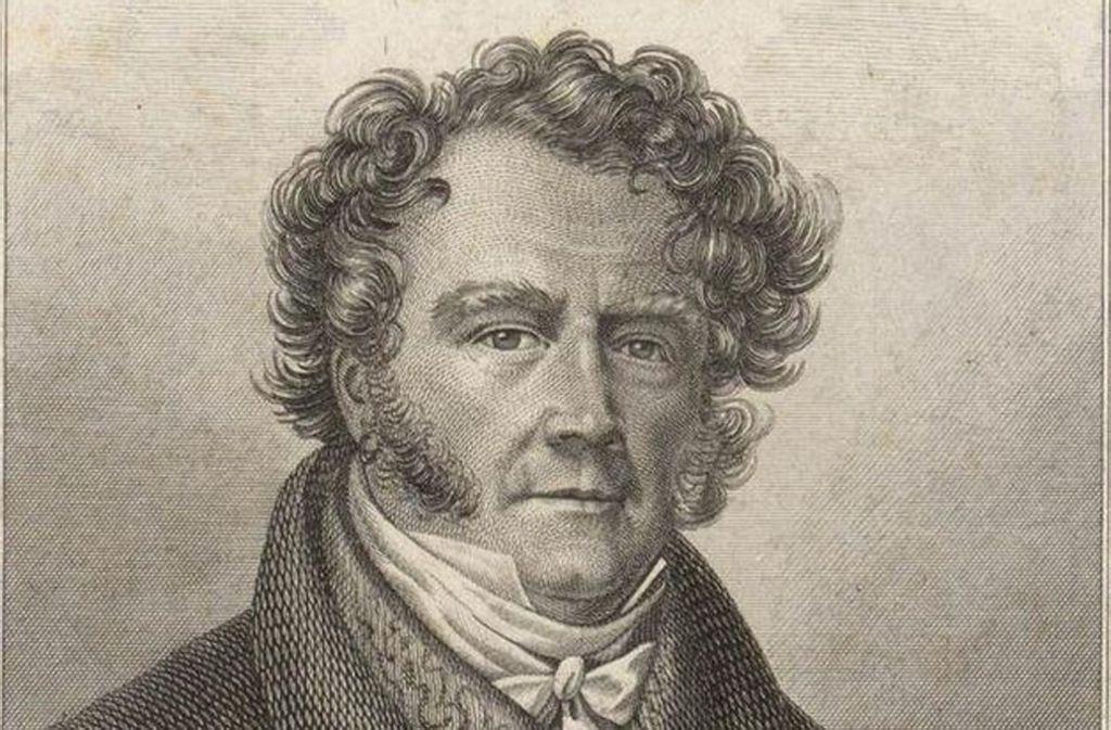 Eugène François Vidocq (1775 bis 1847) Foto: Archiv