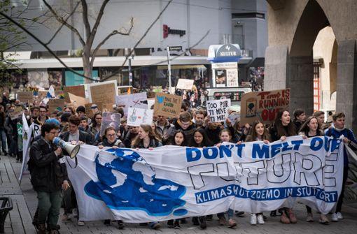 Schüler wollen auch in den Osterferien  demonstrieren