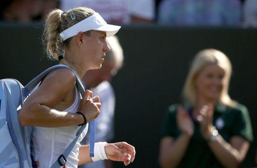 Tennisspielerin trennt sich von ihrem Trainer