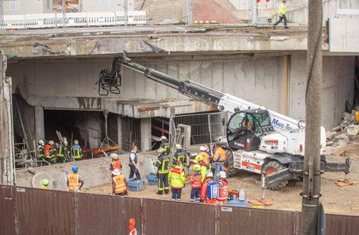Mann kommt in Baustelle des Leuzetunnels ums Leben