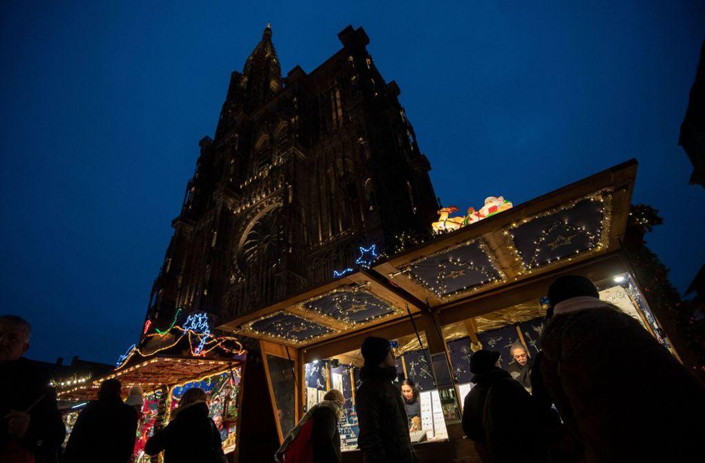 Auf dem Weihnachtsmarkt in Straßburg hat der Attentäter vier Menschen getötet. Foto: dpa