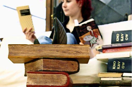 Der Bücherkunde bevorzugt den Kauf im Laden