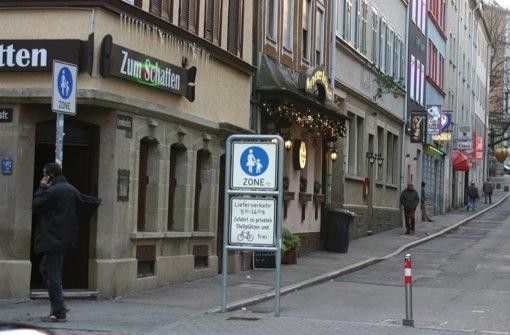 """Die Bar """"Zum Schatten""""  muss einer Beratungsstelle weichen. Foto: Marc Schieferecke"""