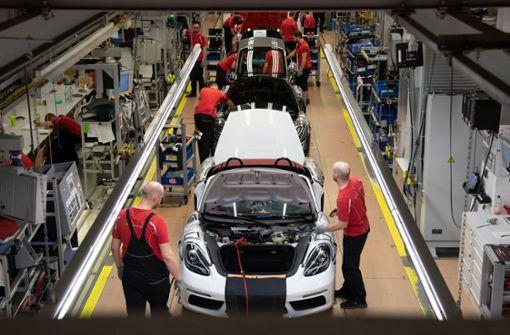 Porsche schwächelt im ersten Quartal