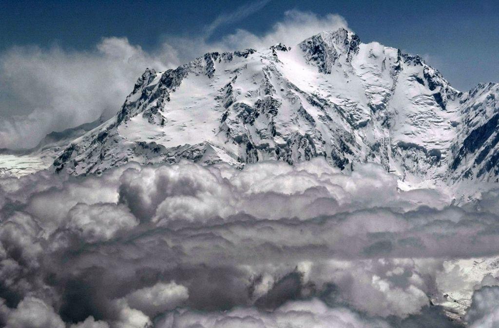 Mit 8126 Metern ist der Nanga Parbat der neunthöchste Berg der Erde. Foto: EPA
