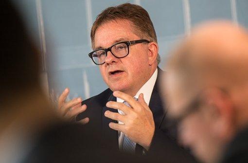 CDU-Spitzenkandidat Guido Wolf trifft sich regelmäßig mit Wirtschaftsvertretern. Foto: dpa
