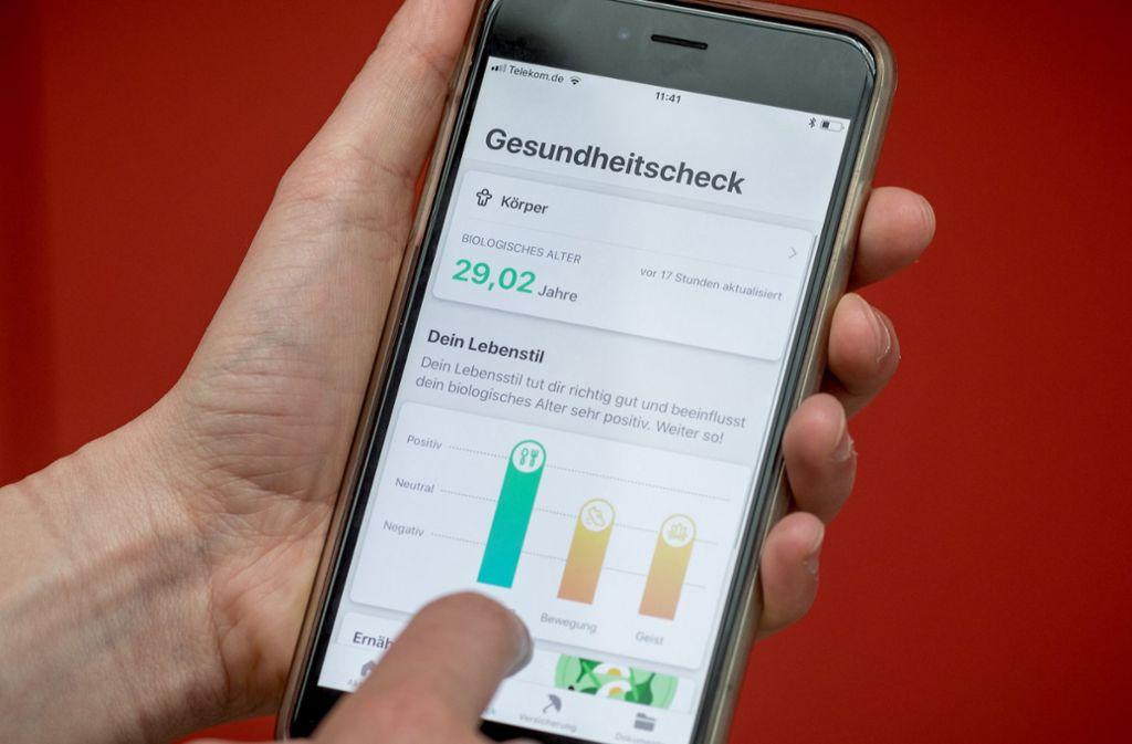 Heute hat jeder dritte Smartphone-Nutzer  eine Gesundheits-App geladen. Foto: dpa