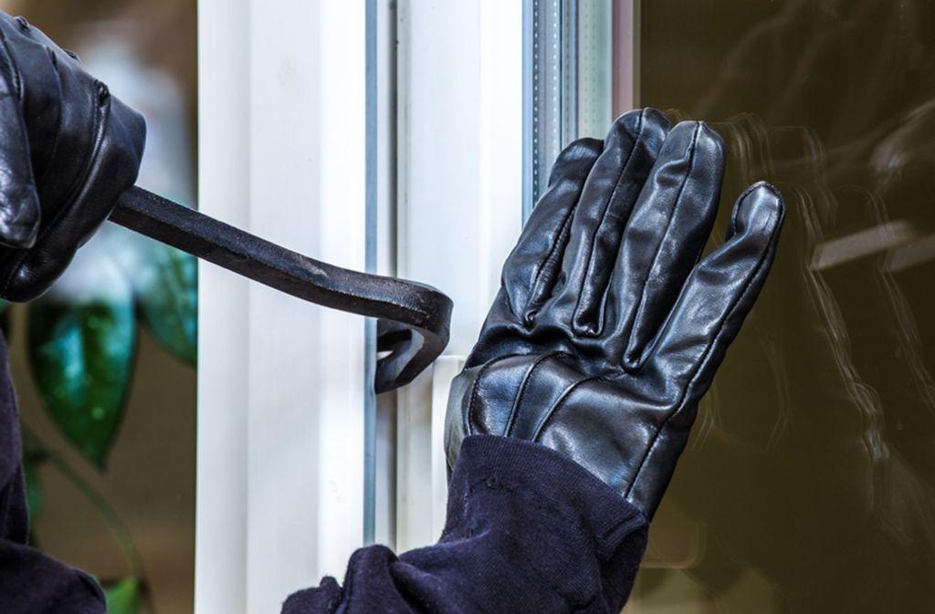 Der Einbrecher gelangte durch ein Fenster in die Wohnung. (Symbolbild) Foto: shutterstock/Rainer Fuhrmann