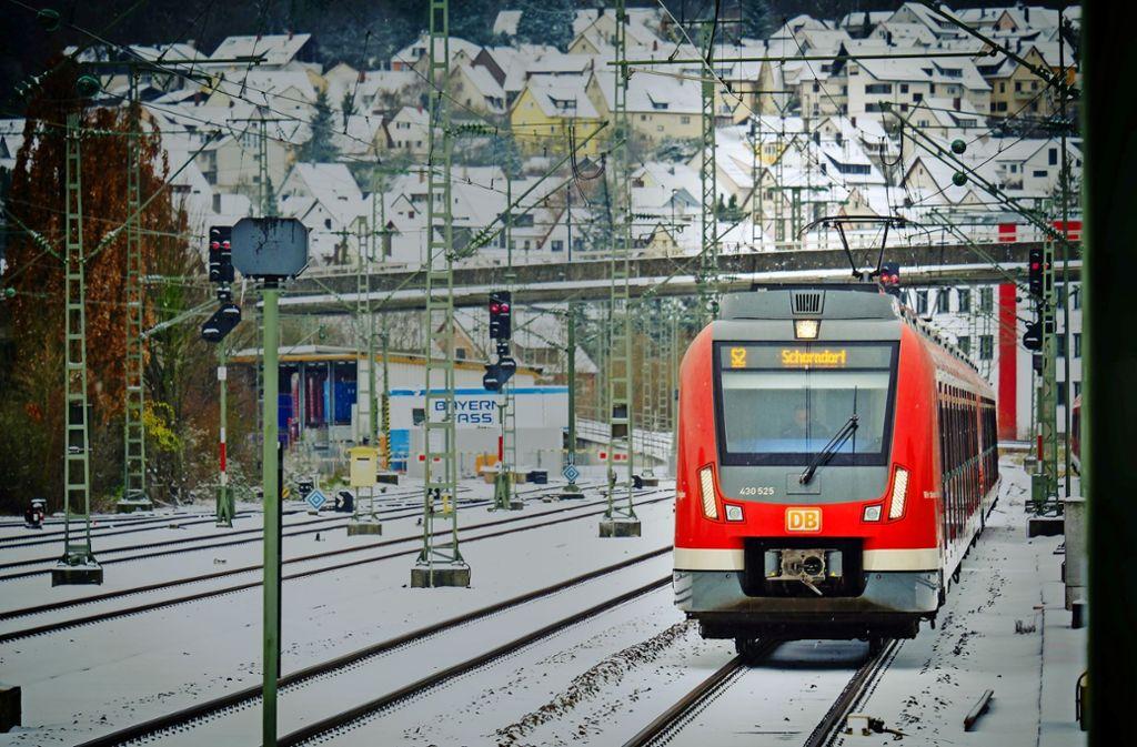 Es gibt Zuschüsse für neue S-Bahnen und das Signalsystem ETCS. Foto: factum, Lg/Zweygarth