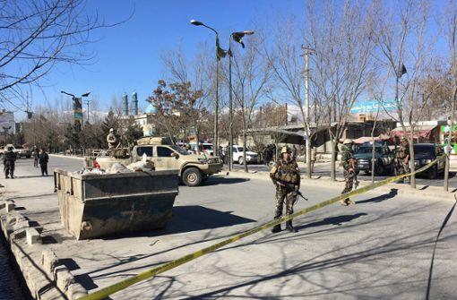 Dutzende Tote bei Selbstmordanschlag in Kabul