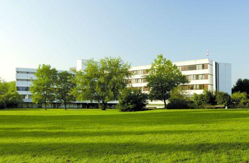 Krankenhaus-Tor beschädigt