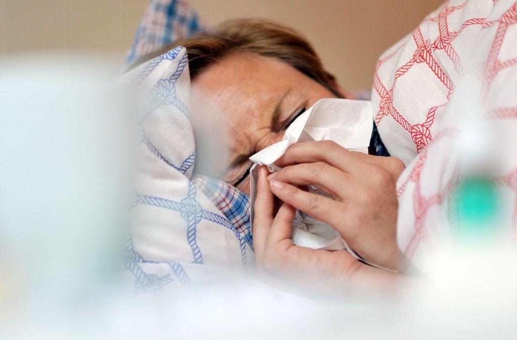 Bei einer Erkältung gehen Männer oft vom Schlimmsten aus. Foto: dpa