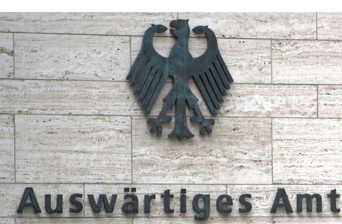 Deutschland hat den chinesischen Botschafter in Berlin ins Auswärtige Amt zitiert (Symbolbild). Foto: dpa/Marius Becker