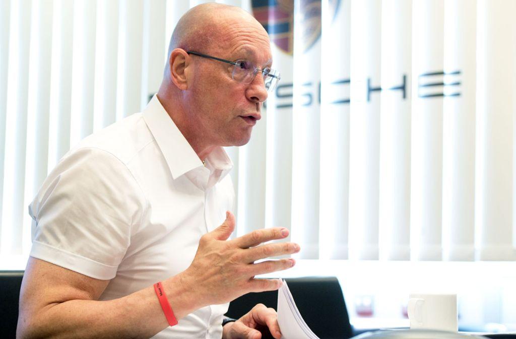 Uwe Hück ist seit 1985 bei Porsche. Foto: Oliver Willikonsky - Lichtgut