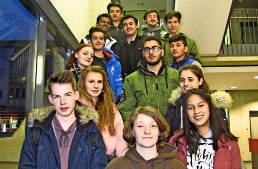 14 Jugendliche wollen was verändern