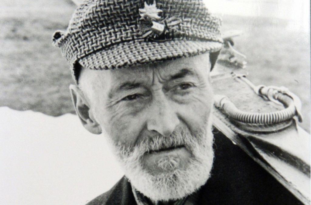 Der Schwarzwälder Skipionier Ernst Köpfer lebte von 1878 bis 1954 Foto: dpa