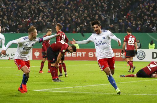 Berkay Özcan schießt Hamburger SV ins Viertelfinale
