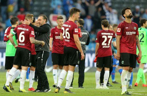 Hannover 96 liegt weiter sechs Punkte hinter dem VfB Stuttgart