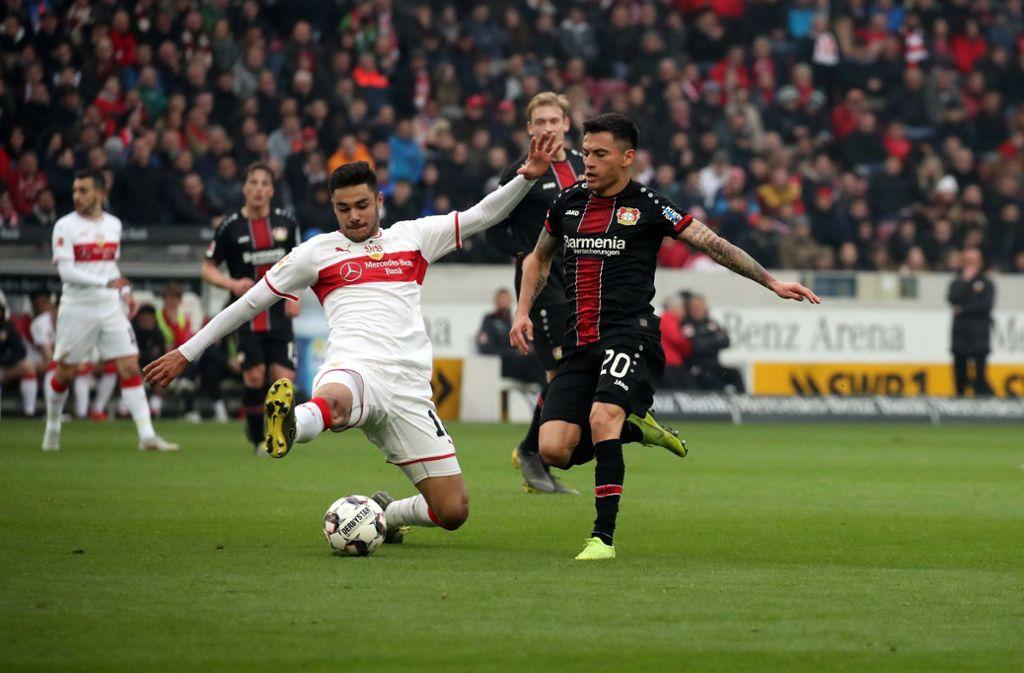 Ozan Kabak ist der Lichtblick in einer schwachen VfB-Mannschaft. Foto: Pressefoto Rudel