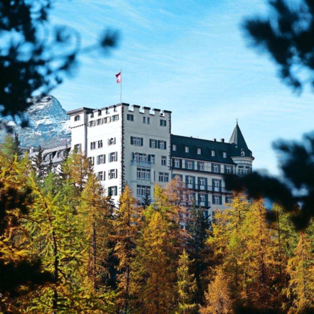 """Im Hotel Waldhaus in Sils Maria war schon Nietzsche zu Gast wie der Held des Romans """"Postskriptum"""". Foto: Keystone"""