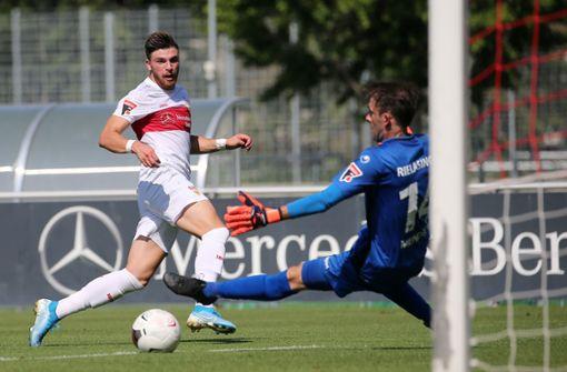 VfB Stuttgart II hat viele Chancen – aber nur einen Punkt