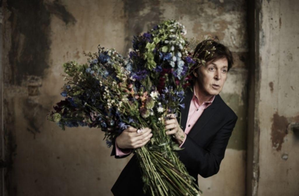 Ein Sträußchen zum Siebzigsten für Paul McCartney. Foto: StZ