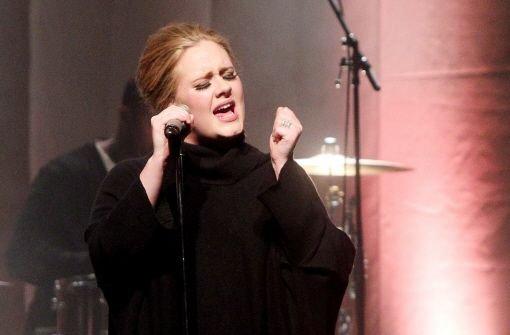 Verwirrung um Sängerin Adele