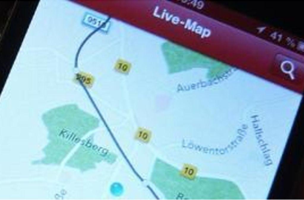 Fahrgäste können im Internet nun vor Fahrtantritt verfolgen, wo sich die von ihnen gewählte S-Bahn befindet und ob sie pünktlich unterwegs ist. Foto: DB Regio