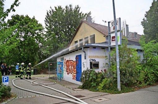 Feuerwehr geht vom Ernstfall aus