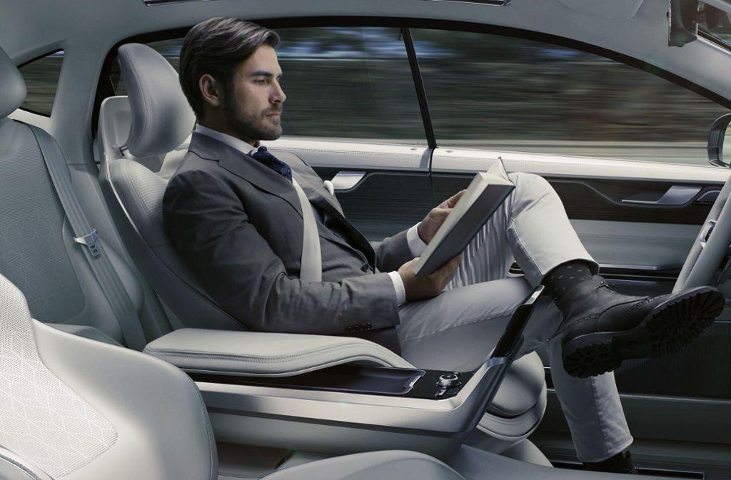 Die Möglichkeiten des automatisierten  Fahrens ist ein Thema bei der nächsten Leseruni. Foto: volvo